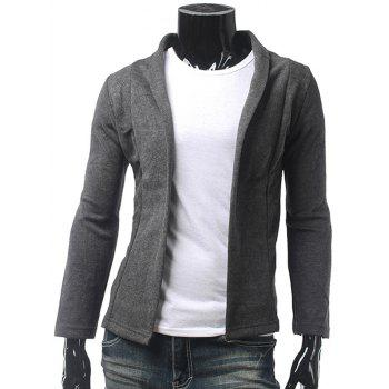 Shawl Collar Slim Fit Cardigan