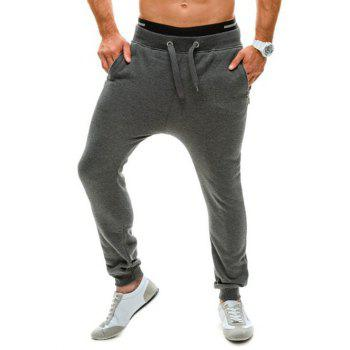 Slim Fit Drawstring Waist Jogger Pants