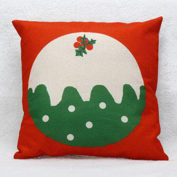 New Year Christmas Office Home Throw Pillow Case