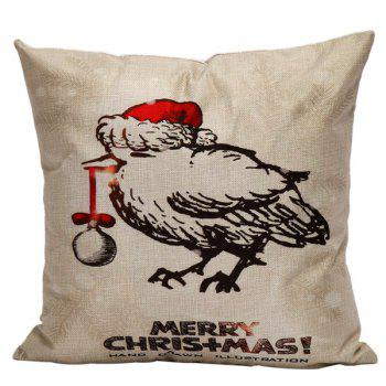 Christmas Sofa Cushion Home Office Pillow Cover