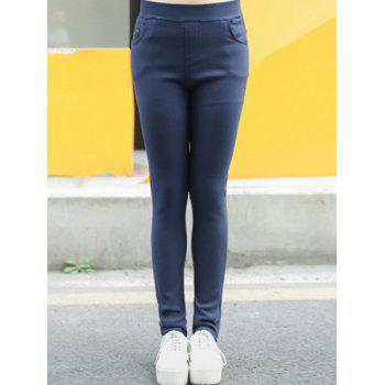 Plus Size Fleece Skinny Pants