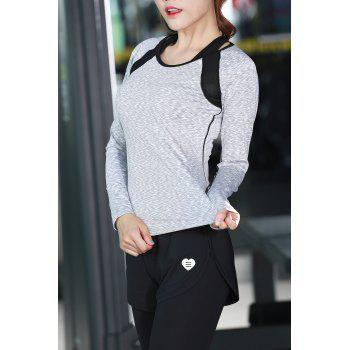 Slim Fit Sports Long Sleeve T-Shirt