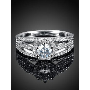 Layered S925 Diamond Ring