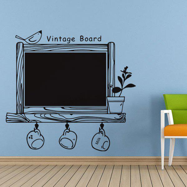 Vintage Writing Board Wall Stickers