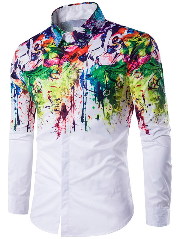ShirtsMyWay is the place where you can design and buy custom dress shirts for men. Colors are great. They enliven your outfit and make you look confident and energetic. And by colorful dress shirts we mean dress shirts with colors incorporated, not bright eyesore solids.