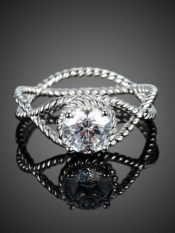 S925 Diamond Ring