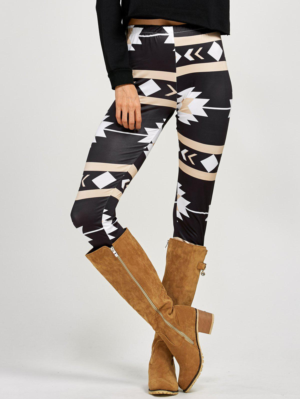 Stretchy Patterned Leggings мешки для мусора hi every family