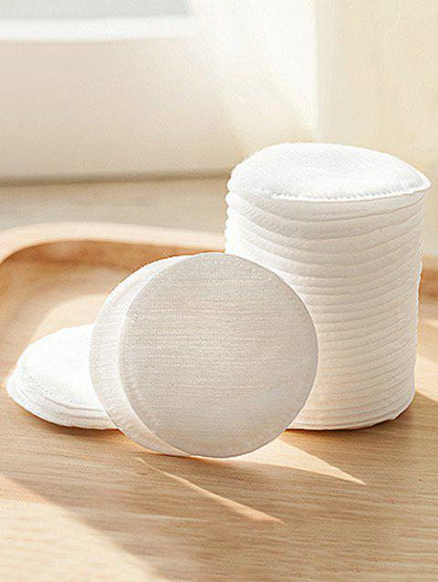 60 Pcs Eye Lip Round Makeup Cottons - WHITE