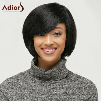 Fluffy Side Bang Short Capless Synthetic Wig