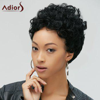 Short Fluffy Curly Capless Synthetic Wig