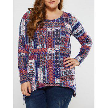Plus Size Tribal Tee