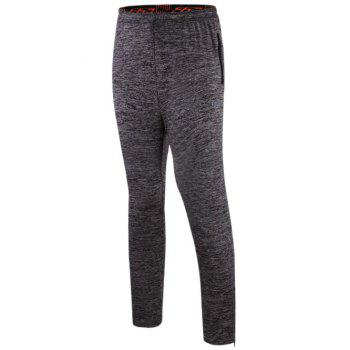 Athletic Pants with Zip - GRAY GRAY
