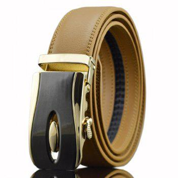 Automatic Buckle PU Waist Belt