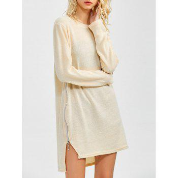Zipped Tunic Jumper Dress