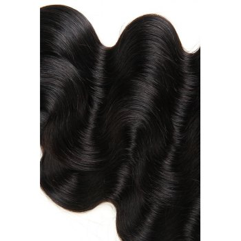 Body Wave 1 Pc/Lot 5A Remy Brazilian Hair Weave - BLACK BLACK
