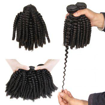 1 Pc/Lot Bouncy Curly 5A Remy Brazilian Hair Weave
