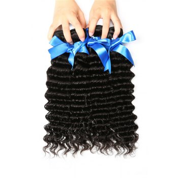 1 Pc/Lot Deep Wave 5A Remy Brazilian Hair Weave - 26INCH 26INCH