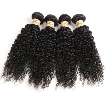 1 Pc/Lot Kinky Curly 5A Remy Brazilian Hair Weave - 20INCH 20INCH