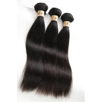 5A Remy 1 Pc/Lot Straight Brazilian Hair Weave - 16INCH 16INCH