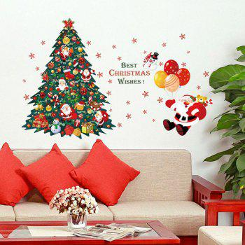 Xmas Tree Removable Christmas Home Decor Wall Stickers