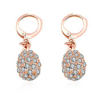 Embellished Rhinestoned Earrings