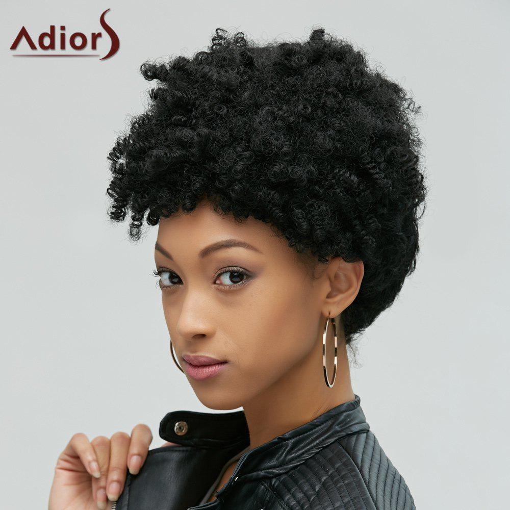 Fascinating Capless Short Afro Curly Synthetic Wig от Dresslily.com INT
