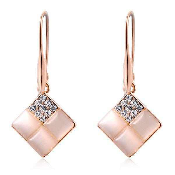 Artificial Opal Rhinestone Geometric Earrings turbo cartridge chra core gt1749v 701854 5004s 701854 turbocharger for audi a4 seat ibiza 2 leon vw caddy polo asv 1 9l tdi 88kw