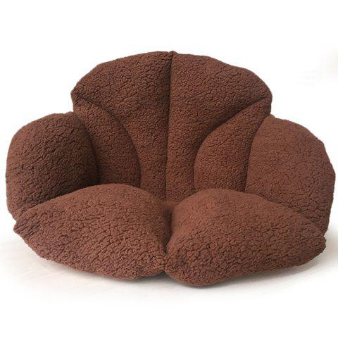 Home Decor Warmth Floor Cushion - COFFEE