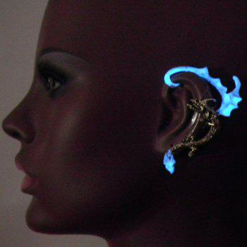 Noctilucence Dragon Wing Ear Cuff