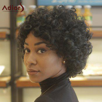 Adiors Short Towheaded Party Curly Synthetic Wig