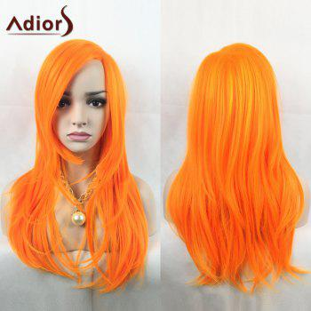 Adiors Slightly Curled Long Side Parting Party Synthetic Wig