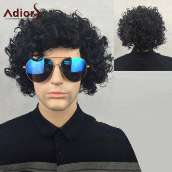 Adiors Shaggy Short Curly Party Synthetic Wig