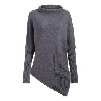 Asymmetrical Pullover Sweater