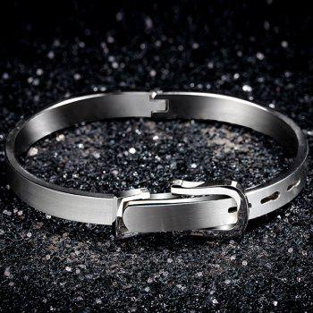Belt Design Titanium Steel Bracelet