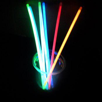 20PCS Colorful Glow Sticks Christmas Decoration - COLORFUL