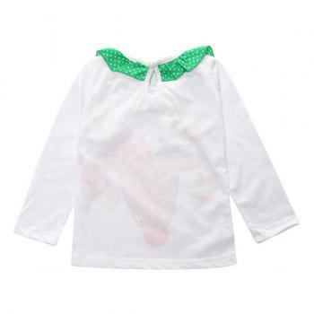 Christmas Decoration Elk Culotte Clothes Set For Girl - S S
