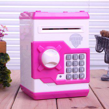 Baby Toy Mini Piggy Bank Simulation ATM Password Safe Box