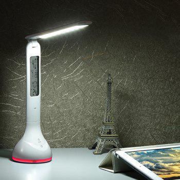 Eye Protective USB Recharge Study Calendar LED Table Lamp