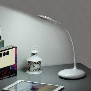 Study Eye Protective Folding Dorm LED Table Lamp - WHITE