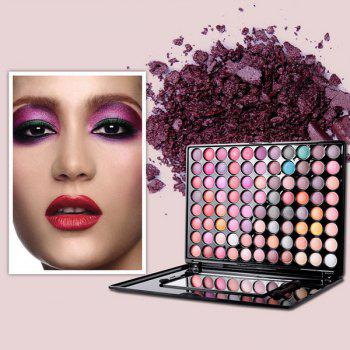 88 Couleurs Kit Eyeshadow imperméable à l'usure à long -