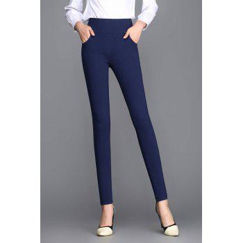 Stretchy High Waist Pencil Pants