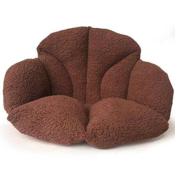 Buy Home Decor Warmth Floor Cushion COFFEE