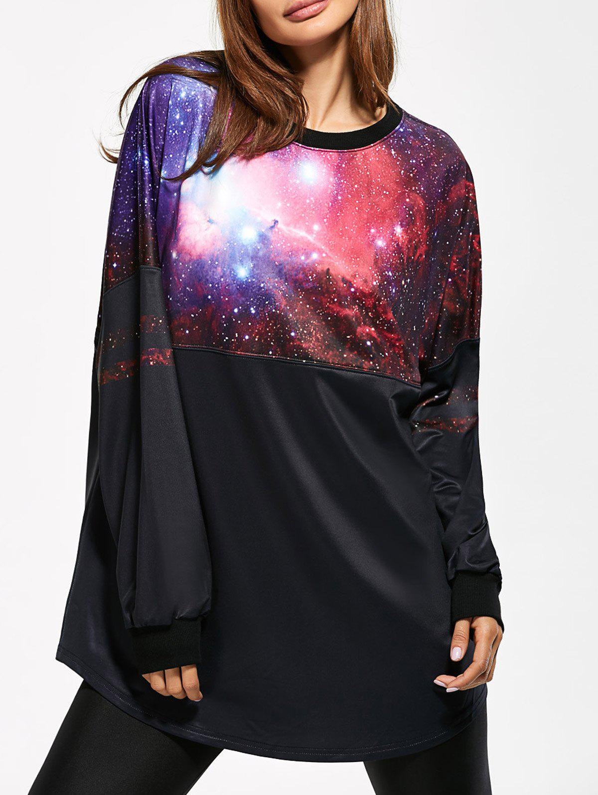 3D Galaxy Print Sweatshirt беспроводные наушники bluetooth philips shb6250