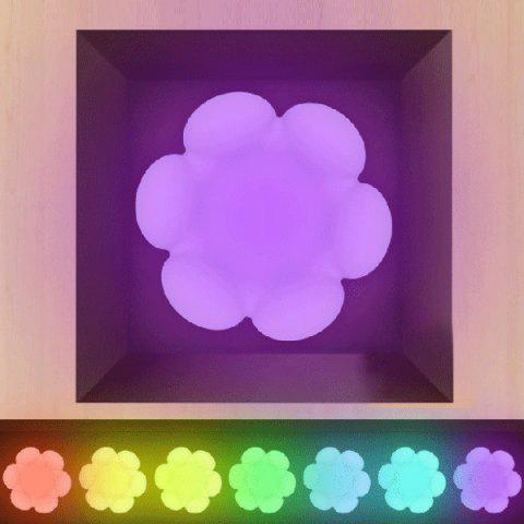 Colorful Ambiance chambre LED stockage Night Light - coloré