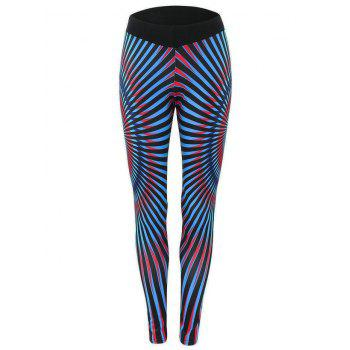 Stripe Running Leggings