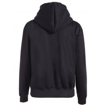 Christmas Graphic Hoodie - BLACK S