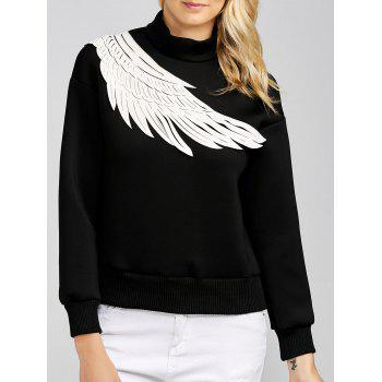 High Neck Half Zip Sweatshirt