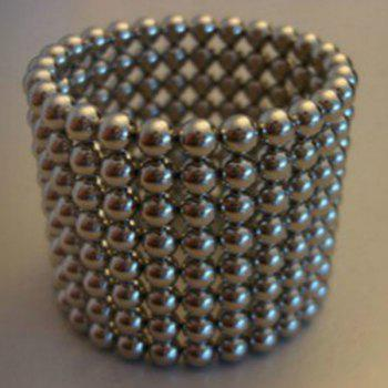 Birthday Gift 216 Pcs 3mm Multi Molding Education Toys Buckyballs -  SILVER