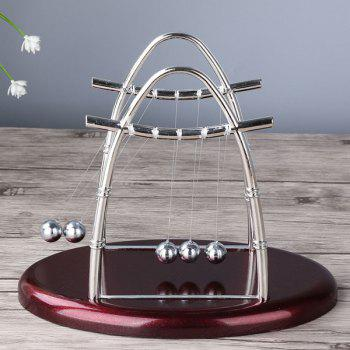 Novelty Craft Metal Balance Newton Pendulum Ball