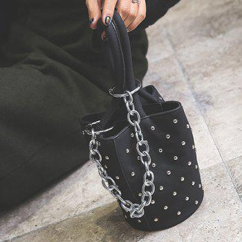 Rivet Chains Mini Handbag